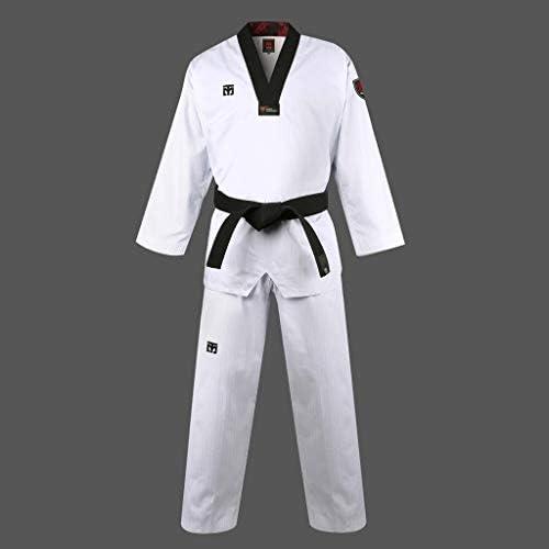 Karate Demo Team Open Jacket New Karate Demo Team Uniform Jacket Only-BK//WT