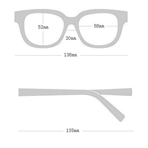 Sol de DT Sol de Gafas Gafas Femeninas Delgadas Coreanas 1 Color polarizadas 3 Gafas Axq45S4w