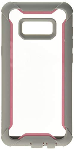 i-Blason Ares Full-Body Rugged Clear Bumper Case with Built-in Screen Protector for Samsung Galaxy S8+ Plus 2017 Release, Pink