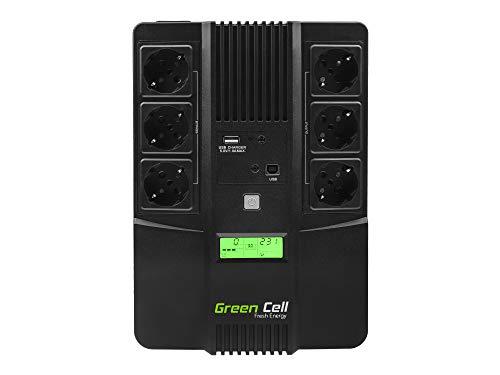 Green Cell PRO UPS Ononderbroken stroomvoorziening met overspanningsbeveiliging, 230 V, lijninteractieve…