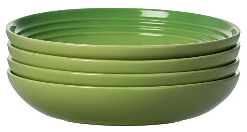 Green Pasta Bowl - Le Creuset of America PG9005S4-224P Pasta Bowls (Set of 4), 8.5