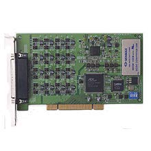 Advantech PCI-1724U-AE 14bit, 32ch Isolated Analog Output Universal PCI Card, an Isolated high-Density Multiple Channel Analog Output Card for The PCI Bus