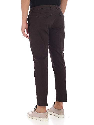 Marrone Pantaloni U17p05t1705040 Department Five Uomo Cotone vXqqT50