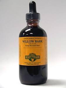 - Herb Pharm Dropper Willow Bark Extract -- 1 fl oz