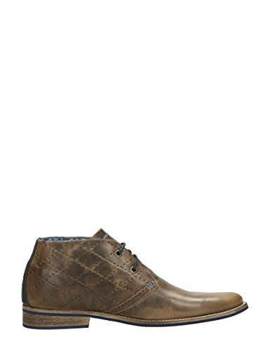 Visions hohen Schuhen Herrenschuhe P206 MIDDEL BRUIN