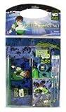 Ben 10 Alien Force Stationery Set - Cartoon Network Ben 10 Stationery Value Set (11 Pieces)