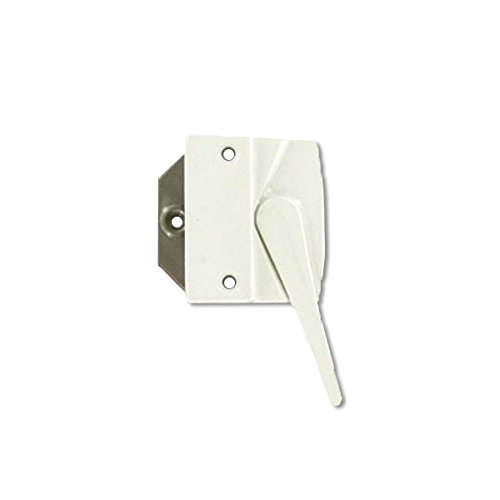 Andersen® #7191-32 Sash Lock & Keeper (Right Hand) in White (1974 to 1995) (Casement Window Sash Lock)
