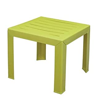 Grosfillex Miami Table Basse Vert Citron