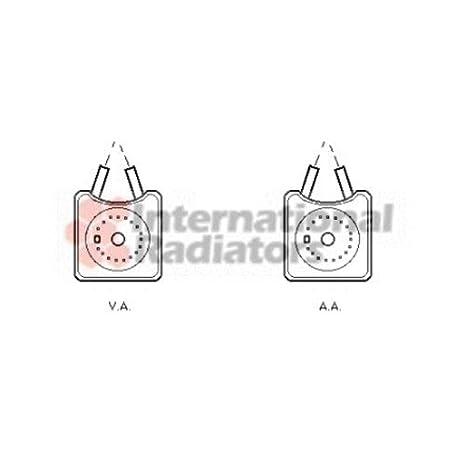VAN WEZEL 58003215 Radiatore olio Olio motore