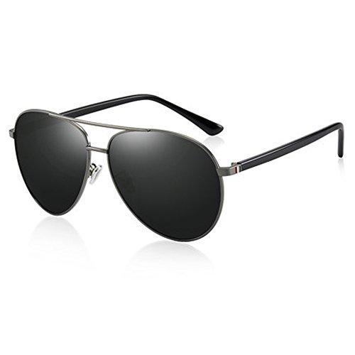 vidrios Conductor Comfort Gafas nuevas sol Gafas Polarizer polarizadas sol Gafas de Gafas Conducción hombre B Retro para sol Espejo de de gafas fSwrfq