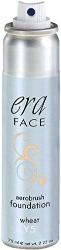 ERA Face Aerobrush Foundation Makeup, Y5 Wheat, 2.25 ()