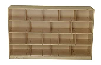 36 x 16 x 27-3//8 Inches Childcraft ABC Furnishings 2-Shelf Deep Shelf Storage Units