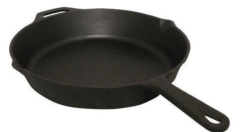 King Kooker CIFP10S Pre-Seasoned Cast Iron Skillet, 10-Inch by Metal Fusion, Inc.