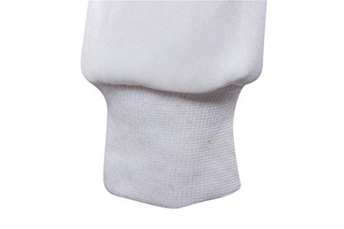 Maglione Di White Per Sport white Hooded Uomo Adong Stampa s Outdoor Cappuccio dqfxPwwYt
