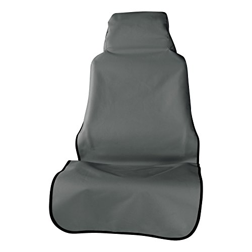 ARIES 3142-01 Defender 23.5 x 58.25-Inch Grey Universal Bucket Car Seat Cover Protector (Best Bucket Seat Covers)