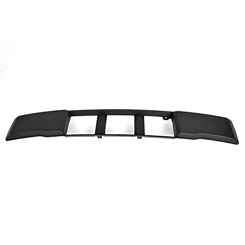 (For 2015-2017 Ford F-150 Front Bumper Lower Grille Trim Panel Black FL3Z17E810CA)