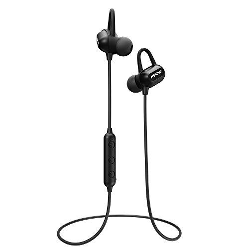 Mpow S9 Bluetooth Headphones, aptX Stereo Wireless Earbuds M