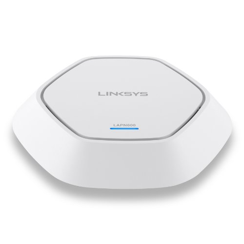 Linksys Dual Band N600 2x2 PoE AP with SmartWiFi - LAPN600-U