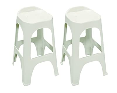 Adams Manufacturing Real Comfort 2-Pack Bar Stool, 30-Inch