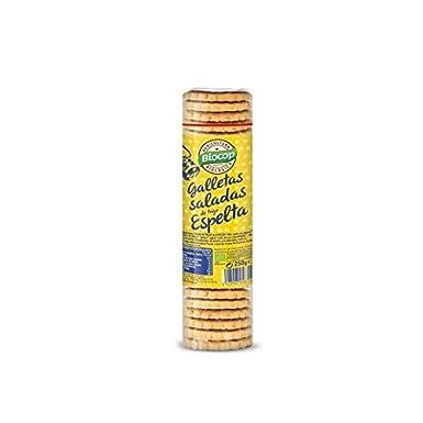 Galletas Saladas de Trigo y Espelta Biocop 250 g: Amazon.es ...