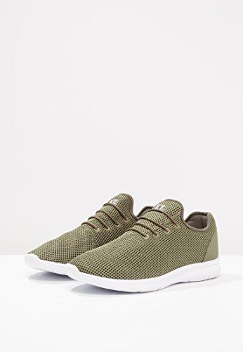 O on Bianca Tessuto Yourturn Sneakers Con Oliva Suola Verde Blu Sportive Rosso In Basse Slip Mesh Nero Sneaker Scarpe U5rq075
