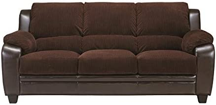 Monika Stationary Sofa Chocolate