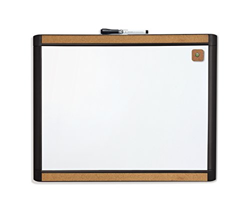 dry erase board with cork board - 5