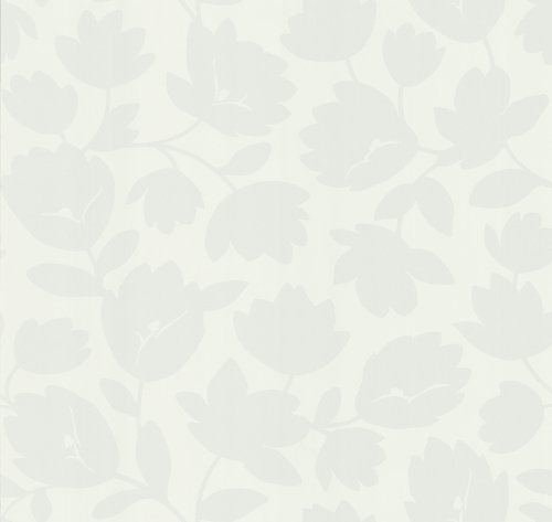 - Kenneth James 566-43992 Echo Design Freesia Cream Fun Floral Wallpaper
