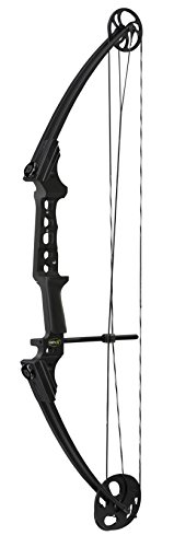 Genesis Compound Bow - Gen-X Genesis Bows Bow, Black, Left Hand