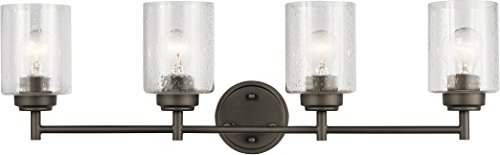 Kichler Lighting 45887OZ Four Light Bath from The Winslow Collection, Olde Bronze