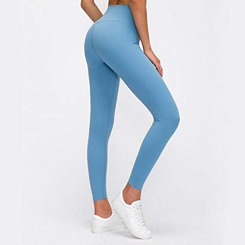 TTZY Femmes Yoga Leggings Gym Leggings Femmes Leggings Sport Fitness Femme Workout Leggins Dames Leggings Noir, Gris Pierre, S