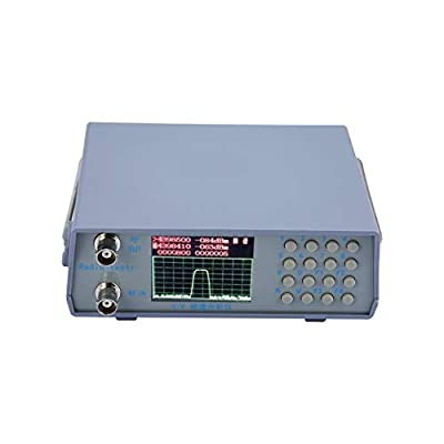 Qewmsg U/V UHF VHF Dual Band Spectrum Analyzer Simple Spectrum Analyzer with Tracking Source Tuning Duplexer 136-173/400-470MHz