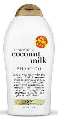 Ogx Shampoo Coconut Milk 19.5 Ounce Nourishing (576ml) (3 Pack)
