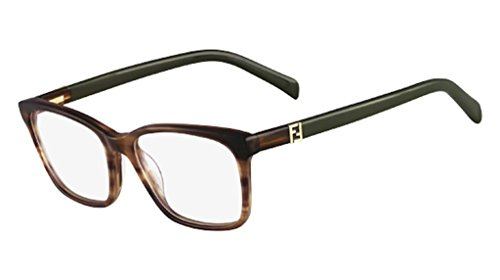 FENDI 1013 217 EyeGlasses & Case 1013 Eyeglasses Brown Frame