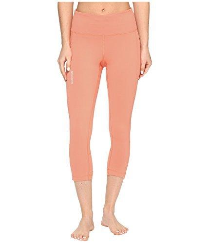 (Columbia Women's Trail Flash¿ Capri Pants Lychee/Light Coral Medium 21)