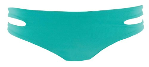 L*Space Women's Sensual Solids Tab Side Hipster Bikini Bottom