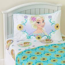 Disney Frozen Sunshine Fever Sheet Set Twin Size