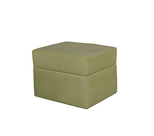 Wood & Style Devon Ottoman Sage Micro Decor Comfy Living Furniture Deluxe Premium - Devon Ottoman