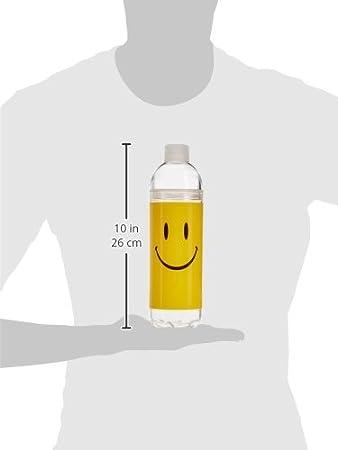 Spoontiques 17791 Mermaid Twist-Top Water Bottle Clear