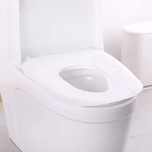 使い捨てトイレパッドマタニティトラベル防水増粘 旅行ホテル防水トイレカバー クッション紙 10ピース