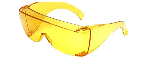 Calabria 3000 Large Square Over UV Protection in - Glasses Yellow Benefits Lense