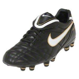 timeless design 572e1 ee657 Nike Tiempo Mystic III FG Football Shoes black / white / gold,  Schuhgröße:EUR 39