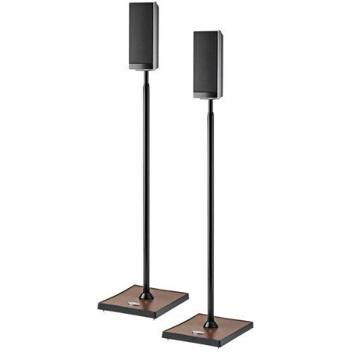 OMNIMOUNT GEMINI 1 B Gemini Audiophile Speaker Stands, 2 pk (Speaker Audiophile Stands)
