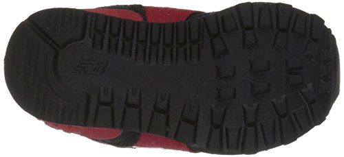 Nieuw Evenwicht Unisex-kinder Kl574wtg M Tennisschoenen Rood / Zwart 2