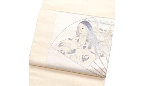 水差し何よりも統計的袋帯 正絹 着物 きもの 平安姫 刺繍 優雅 和服 和装 リサイクル【中古】 90014812