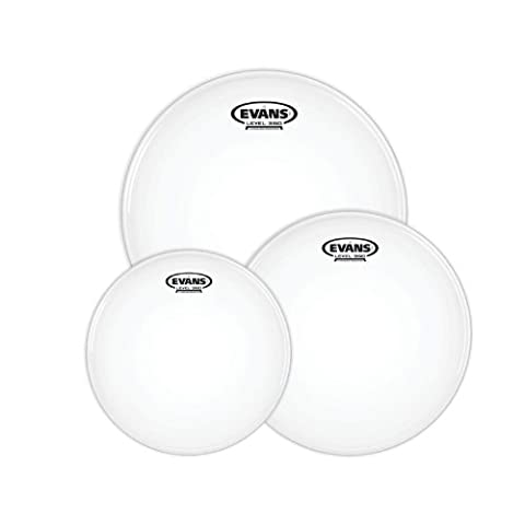 Evans G2 Tompack, Coated, Fusion (10 inch, 12 inch, 14 inch) (Evans G2 14 Snare)
