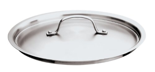 Paderno World Cuisine 6-1/4 Inch Stainless Steel Frying Pan Lid