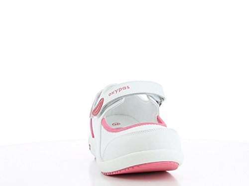 Oxypas Nelie, Women's Safety Shoes, White (Fux),7 UK(41 EU)