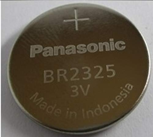 - 25 X Br2325 Panasonic 3 Volt Lithium Coin Cell Battery (Cr2325)