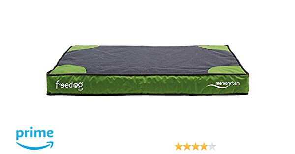 Freedog FD1000391 - Colchón viescoelastico, para Perro, Color Verde: Amazon.es: Productos para mascotas